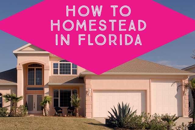 Homesteading in Florida